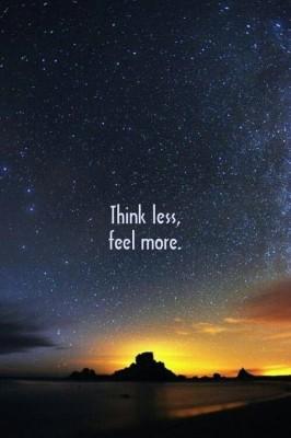 thinklessfeelmore