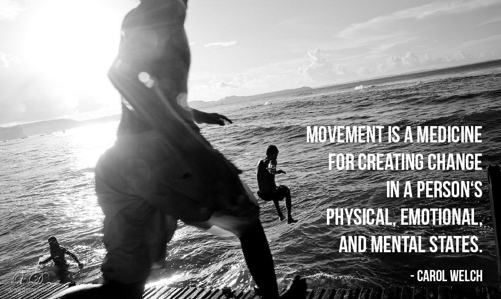 子どもからお年寄りまで、すべての人に有益な動きの基礎を教えています